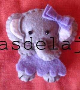 Broche elefantita